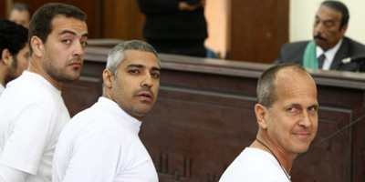 Trial of Al Jazeera staff adjourned in Cairo