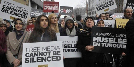 Turkey 'silencing' independent media: Human Rights Watch