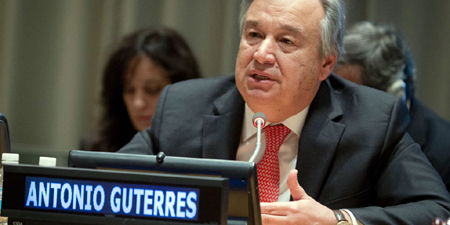 UN secretary general pledges to take action on journalist safety