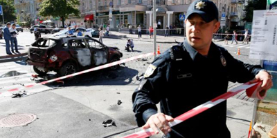 Ukraine sees ulterior motives after car bomb kills journalist