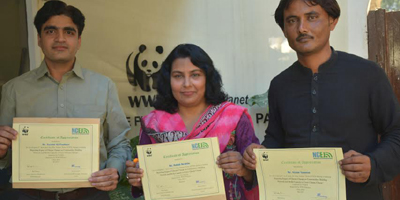 WWF-Pakistan honors journalists for their work on climate change
