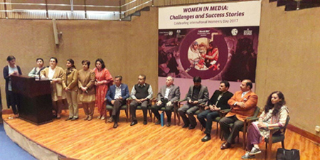 Women journalists demand reserved seats