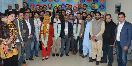 Afzal Javed of Founder Group elected RISJA president