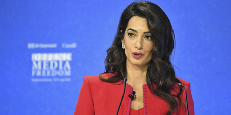 Amal Clooney faults 'collective shrug' over slain journalist