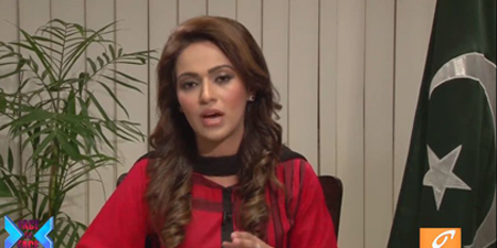 Ayesha Bakhsh goes on air on GNN