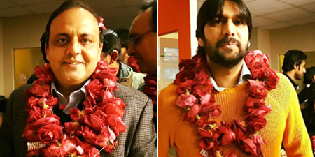 Azam Chaudhry new president of Lahore Press Club; Abdul Majeed reelected secretary