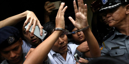 Britain calls for immediate release of Reuters journalists jailed in Myanmar