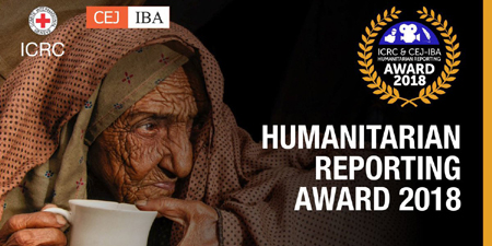 Cash prizes up for grabs in CEJ-ICRC Humanitarian Reporting Award
