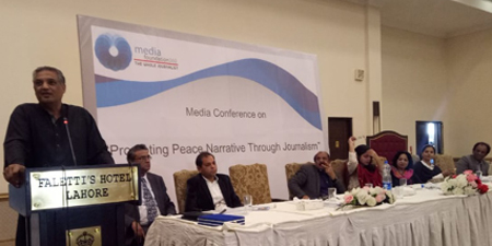 Conference focuses on journalism for peace, interfaith harmony