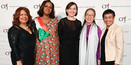 CPJ gala honors brave journalists, highlights journalism's role