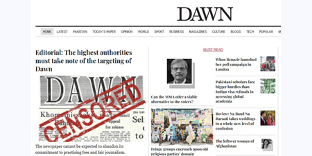 Dawn editorially highlights a disturbing reality