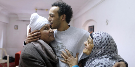Egyptian photojournalist Shawkan freed after over five years in jail