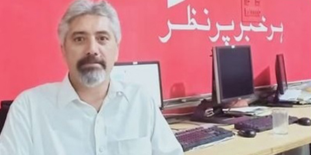 Express News bureau chief Jamshed Baghwan harassed by unknown men