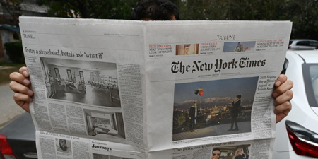 Express Tribune censors New York Times article