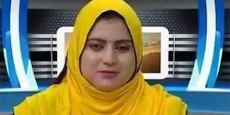 Female television anchor and driver shot dead in Afghanistan