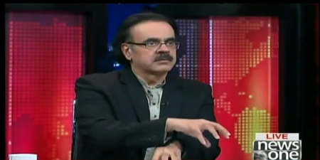 FIA arrests NewsOne analyst Dr. Shahid Masood
