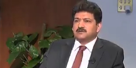 Hamid Mir interview of Zardari taken off air