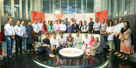 Humanitarian reporting workshop for journalists concludes at CEJ