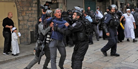 IFJ denounces 'dramatic increase' in violations against Palestinian media