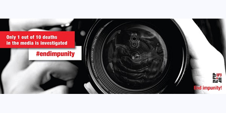 IFJ launches campaign to fight impunity for crimes against journalists
