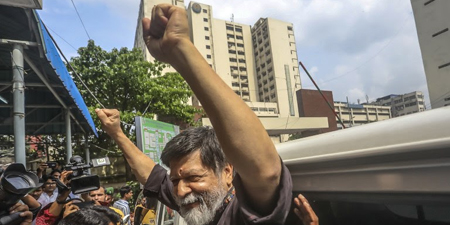 IFJ, SAMSN demand release of photojournalist Shahidul Alam in Bangladesh