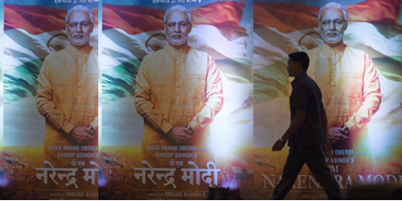 India bans Modi film until after election