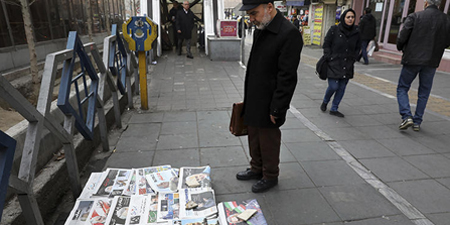 Iran bans printing of all newspapers citing spread of coronavirus