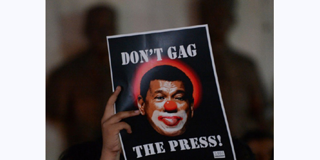 Journalist banned from Presidential Palace in Philippines