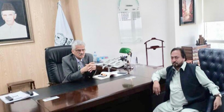 Journalist union leader meets PEMRA chief