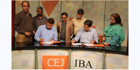 KUJ-Barna and CEJ sign MoU for capacity building workshops