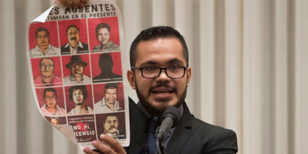 Mexican journalist honored for reporting vows to never be silenced