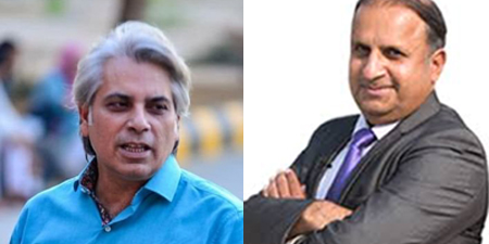 Mubashir Zaidi and Rauf Klasra renew war of words