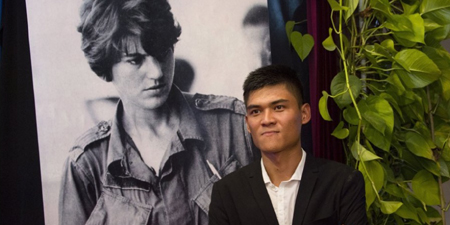 Myanmar journalist receives AFP Kate Webb Prize