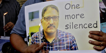 National Press Club pays tributes to slain Kashmiri journalist Shujaat Bukhari