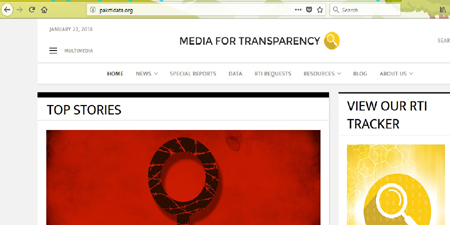 New website on data journalism and RTI laws launched