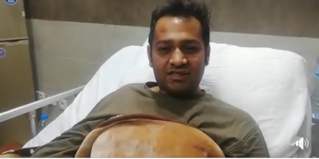 No idea who assaulted me, says Samaa cameraperson Wajid Ali