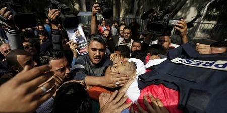Palestinian journalist killed in Israel-Gaza protests