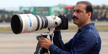 Photojournalist Faisal Mahmood drowns in water channel