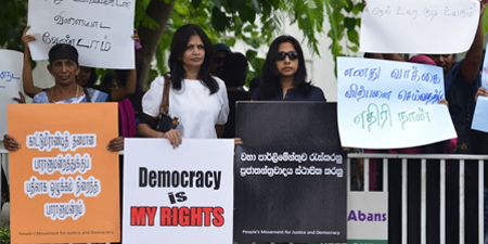 Press freedom and journalists' safety under threat in Sri Lanka