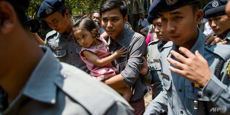 Reuters journalists clock up 100 days in Myanmar jail