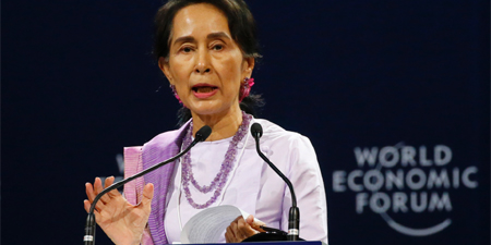 Reuters journalists in Myanmar not jailed because of journalism: Suu Kyi