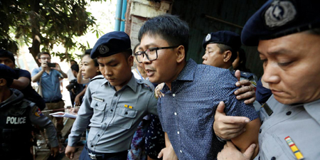 Reuters Myanmar reporters jailed for seven years in landmark secrets case