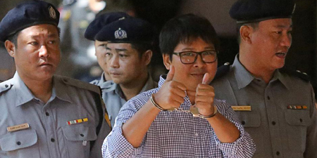 Reuters reporters arrested under Myanmar Secrets Act denied bail