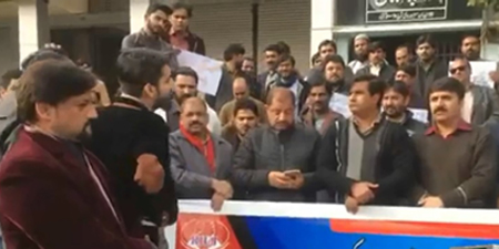 RIUJ continues protest against layoffs at Daily Express
