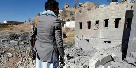 Saudi-led strike on Yemen TV station kills four