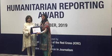 Seven journalists honored for excellence in humanitarian reporting