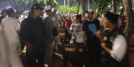 Several journalists attacked at Jakarta rally