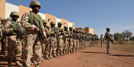 Soldiers invade press center in Nigeria