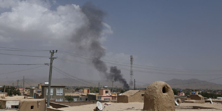 Taliban burn down radio and TV station in Afghanistan