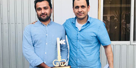 The News journalist Fakhar Durrani wins RTI Champions Award